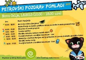 Petrovški pozdrav pomladi (art in bio tržnica, cici triatlon, otroške delavnice) @ Dvorec Novo Celje | Petrovče | Žalec | Slovenija